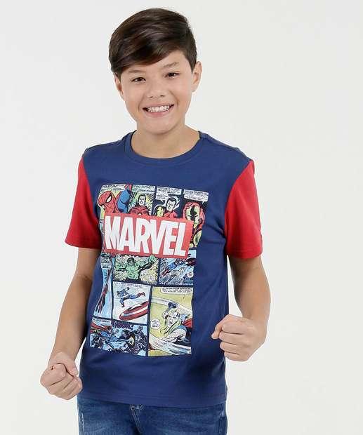 Image_Camiseta Juvenil Estampa Os Vingadores Manga Curta Marvel