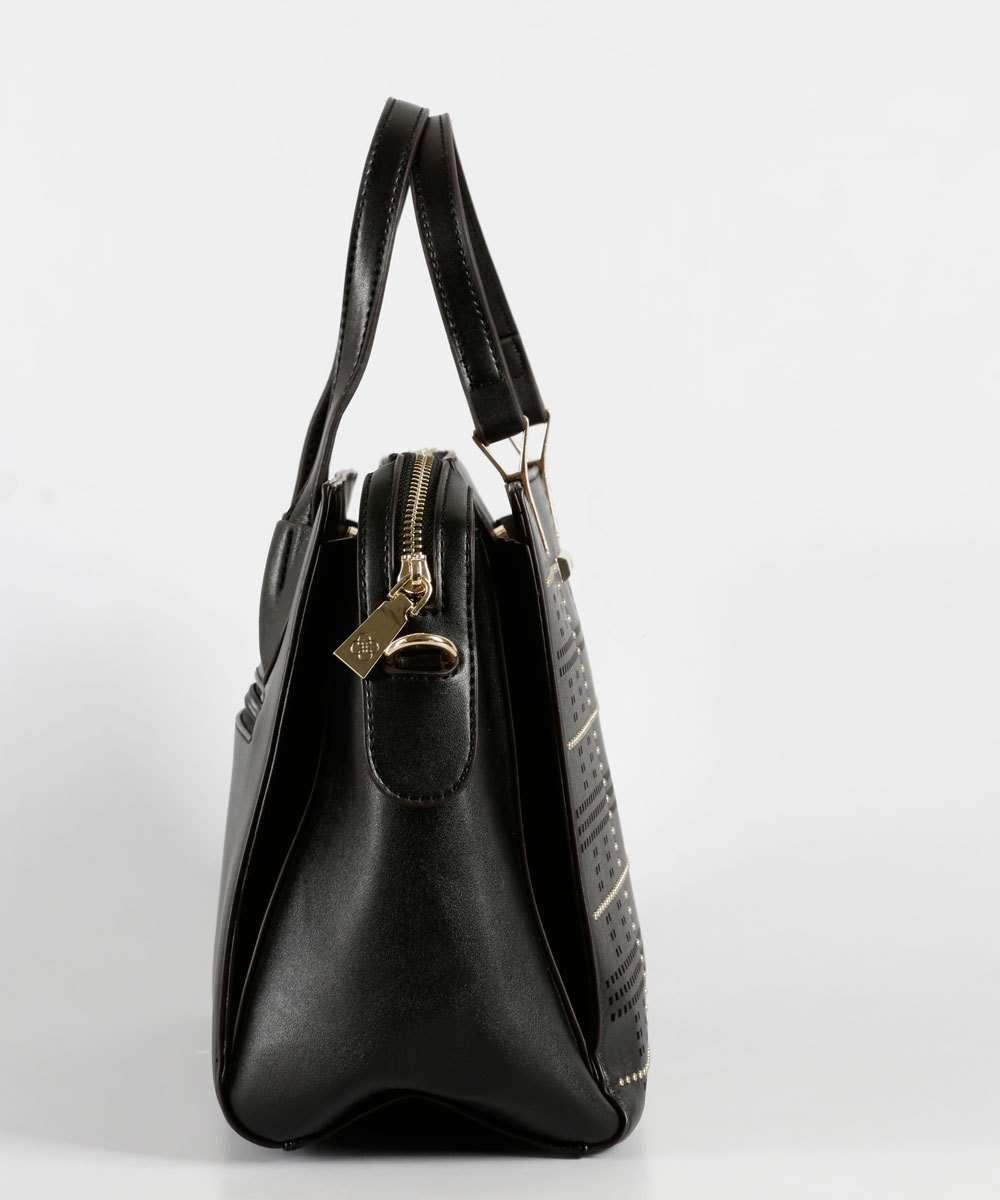 53b29338c Bolsa Feminina de Mão Recorte Laser Chenson | Marisa