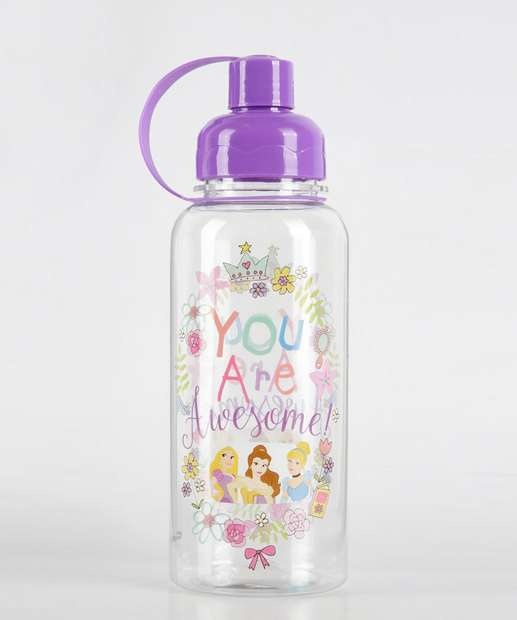Image_Garrafa Squeeze Infantil Estampa Princesas 650ml Disney