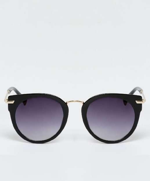 Óculos De Sol Espelhado Feminino Gatinho Metal Redondo - Acessórios    Maquiagens. THE ... 113b5fc526