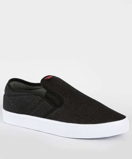 Image_Tênis Masculino Casual Slip On Jeans Inverse Ollie