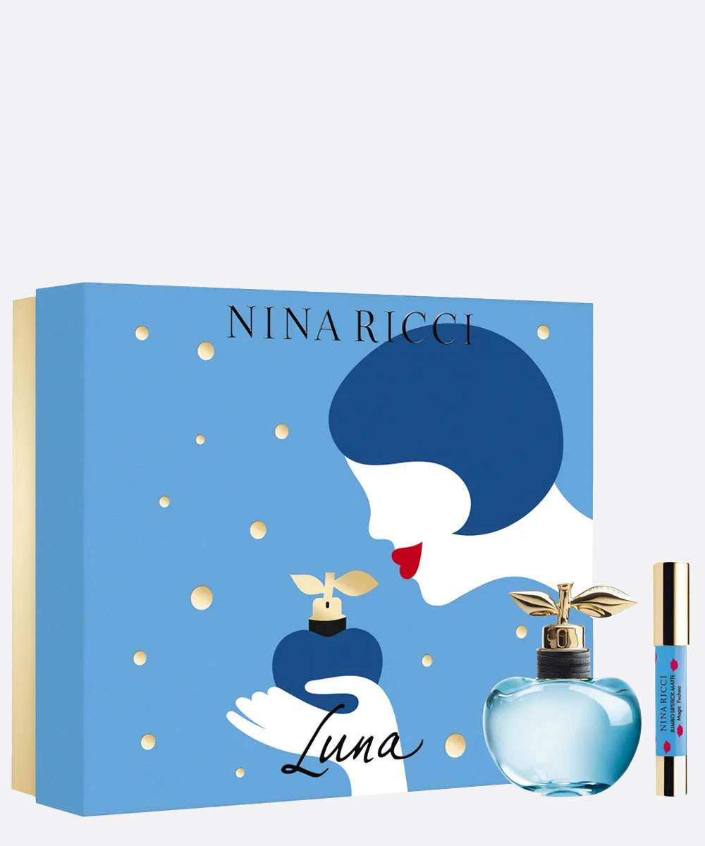 Kit Perfume Luna 80ml e Batom Nina Ricci