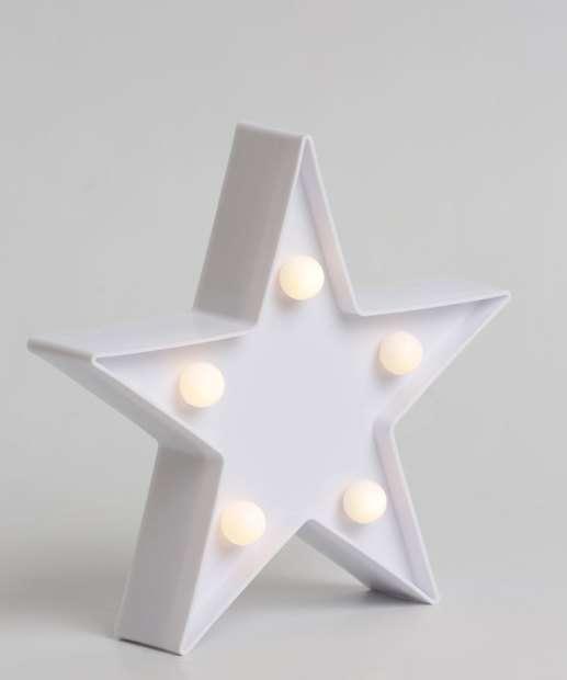 Image_Luminária Estrela Com Led Marisa