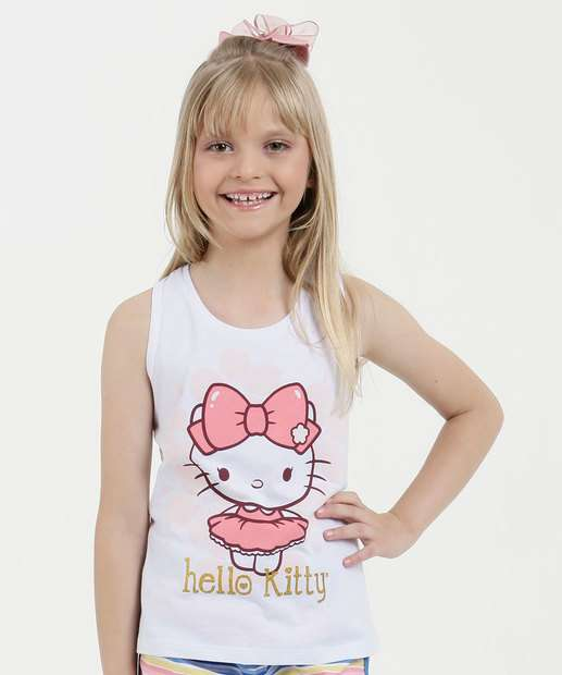 Image_Regata Infantil Estampa Hello Kitty Sanrio