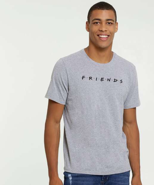 Image_Camiseta Masculina Friends Manga Curta Warner Bross