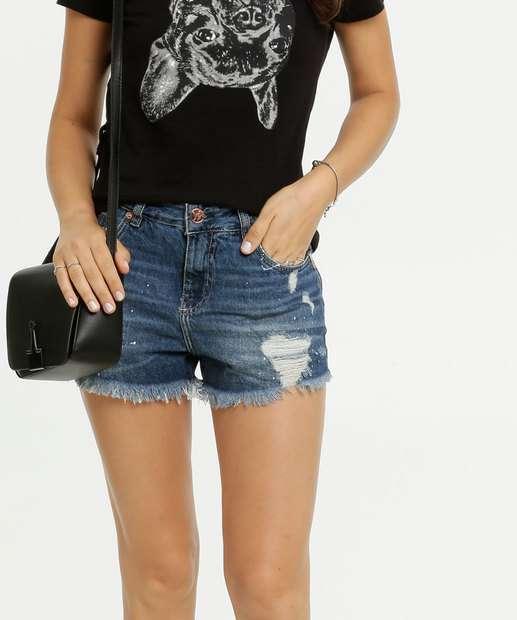 Image_Short Feminino Destroyed Bolsos Uber Jeans