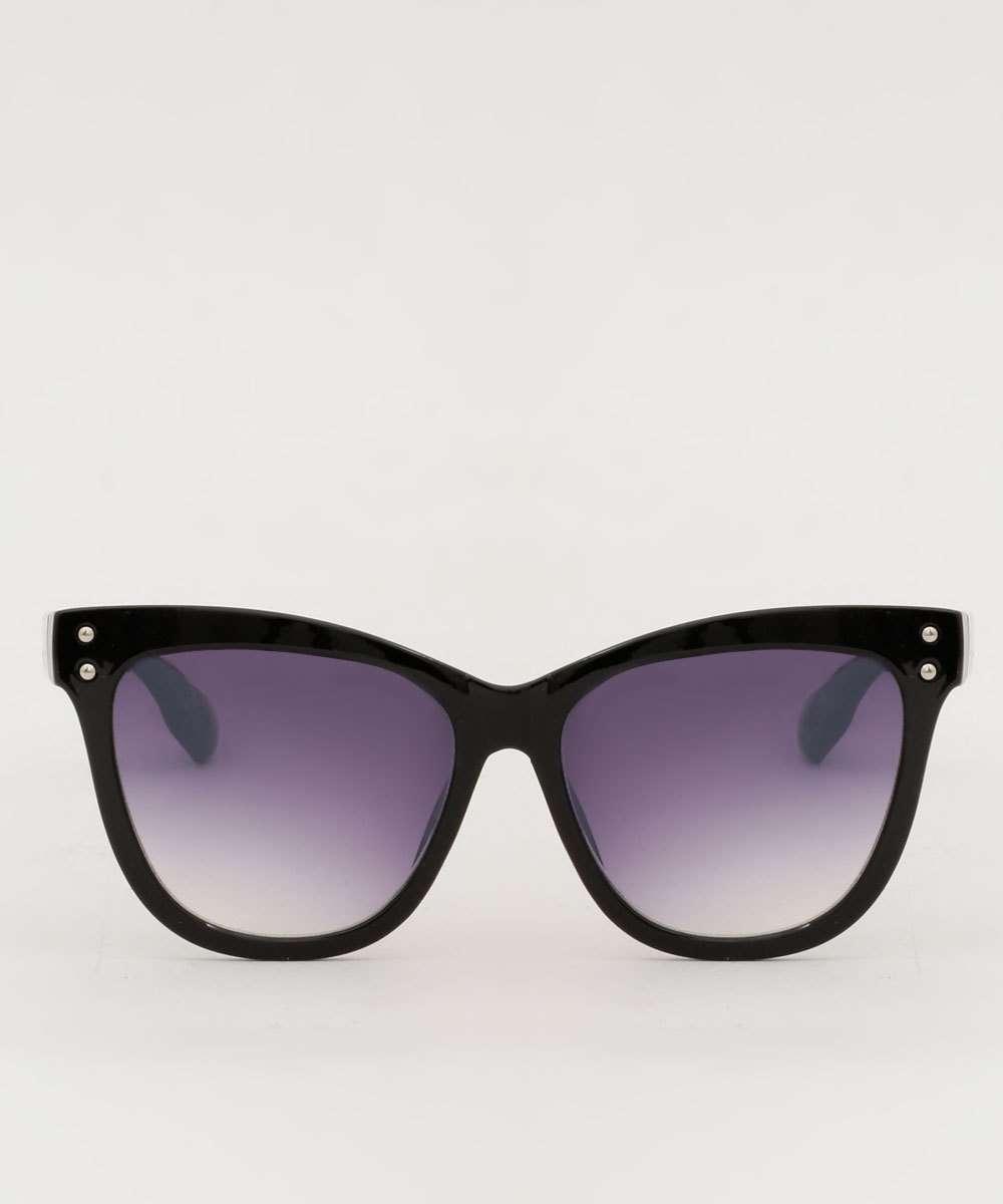Óculos de Sol Feminino Redondo Tachas Marisa
