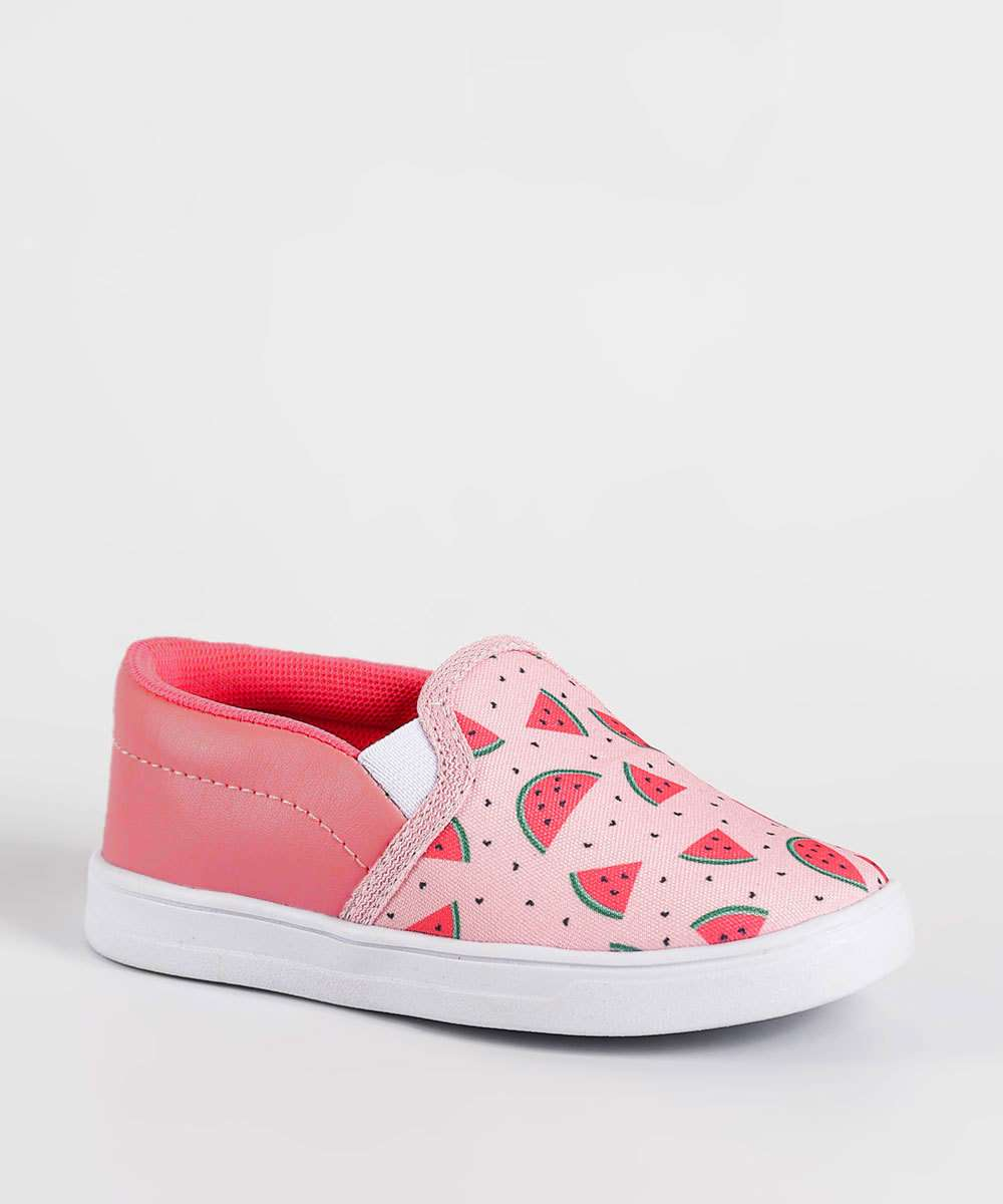 Tênis Infantil Slip On Estampado Marisa