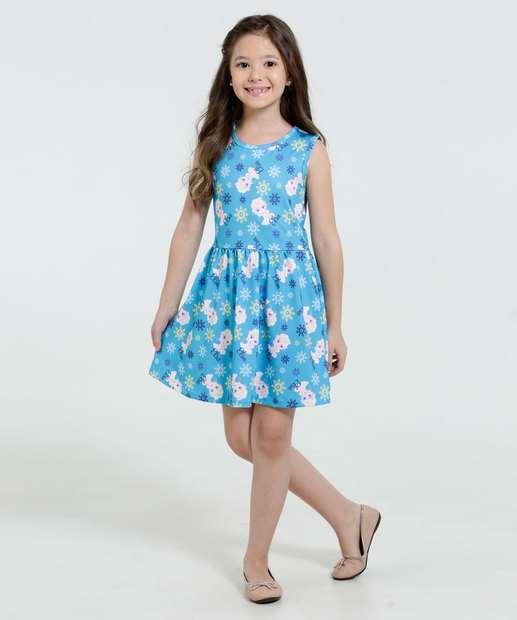 Image_Vestido Infantil Frozen Elsa Disney