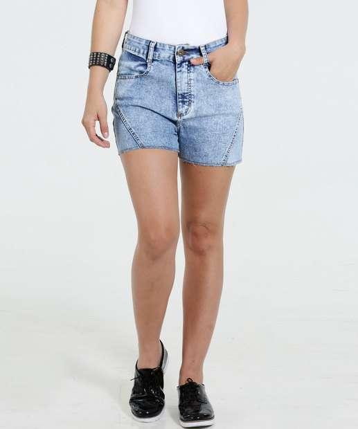 Image_Short Feminino Hot Pants Jeans Stretch Marisa