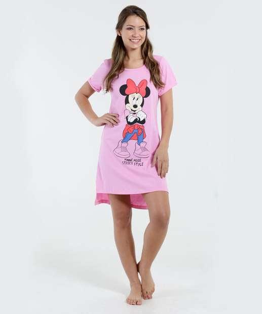 Image_Camisola Feminina Estampa Minnie Disney