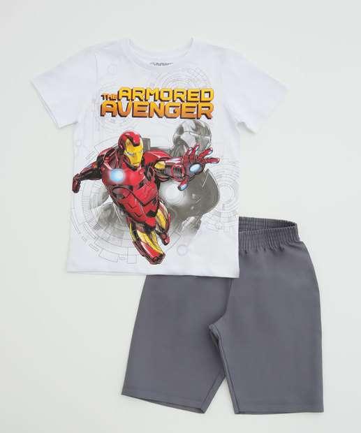 Image_Conjunto Infantil Homem de Ferro Manga Curta Marvel