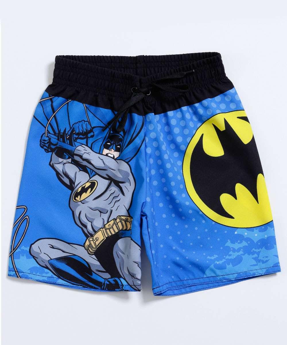 Image_Bermuda Infantil Estampa Batman Liga da Justiça