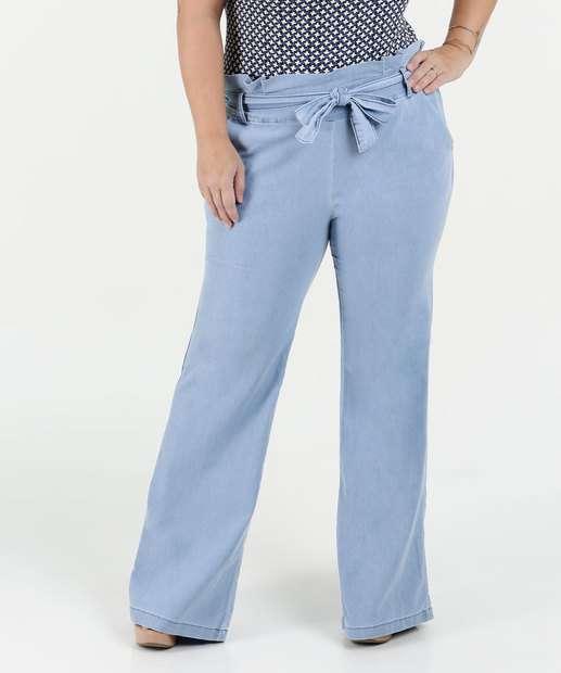 Image_Calça Feminina Jeans Clochard Plus Size Razon