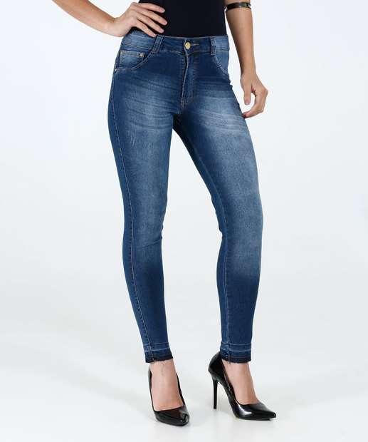 Image_ Calça Feminina Jeans Skinny Biotipo