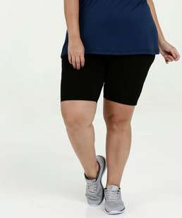 Bermuda Feminina Fitness Plus Size Marisa