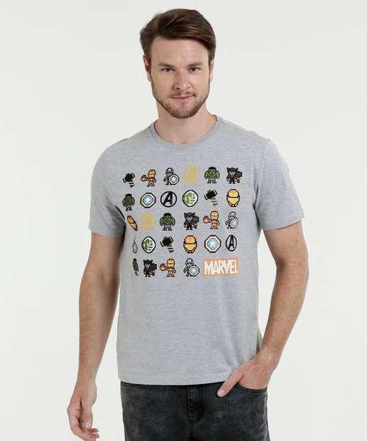 Image_Camiseta Masculina Estampa Vingadores Marvel