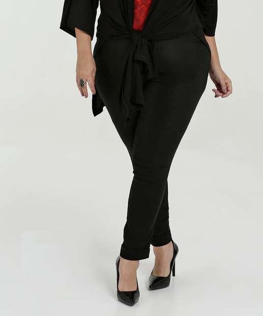 Image_Calça Feminina Bengaline Skinny Plus Size Marisa