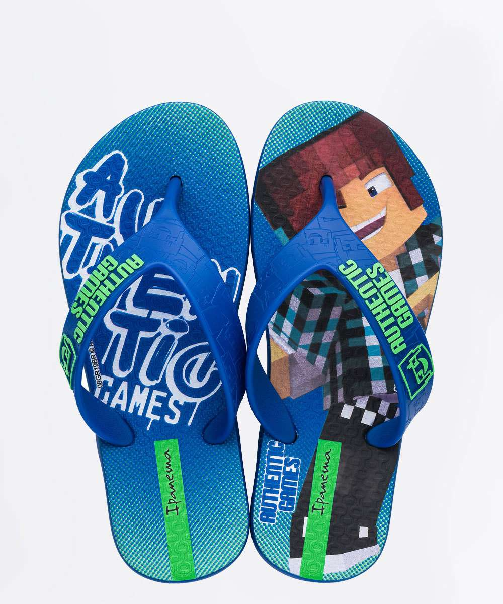 Chinelo Ipanema Infantil Authentic Games 26306