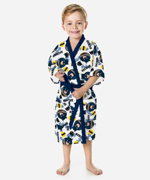 Image_Roupão Infantil Estampa Batman Lepper
