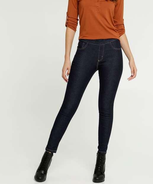 Image_Calça Feminina Jegging Bolsos Uber Jeans