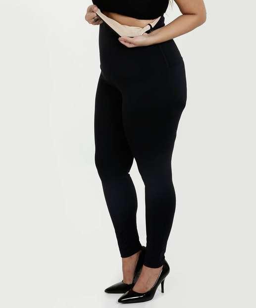 Image_Calça Feminina Legging Modeladora Plus Size Costa Rica