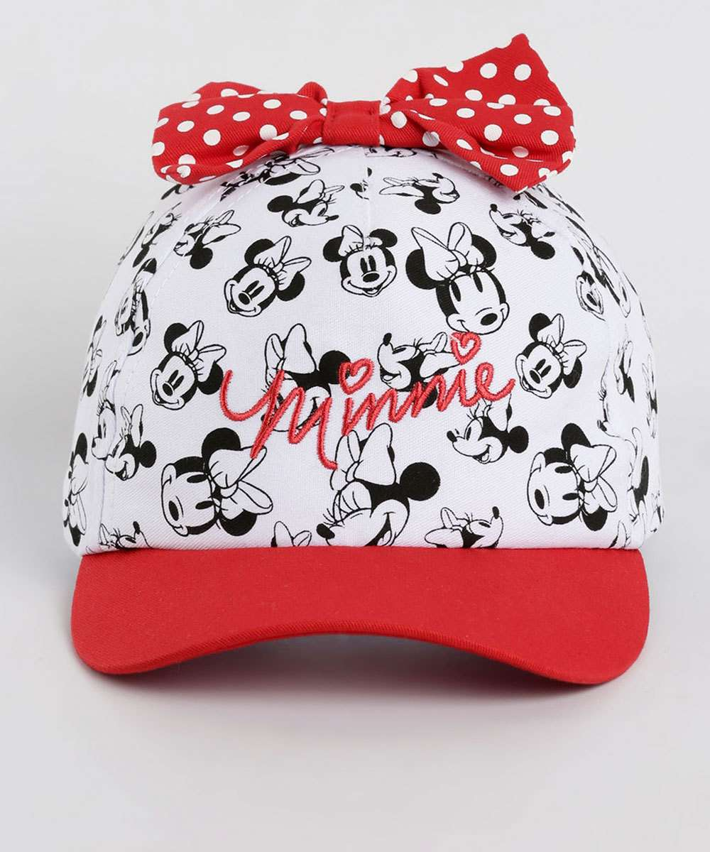 Boné Estampa Minnie Disney