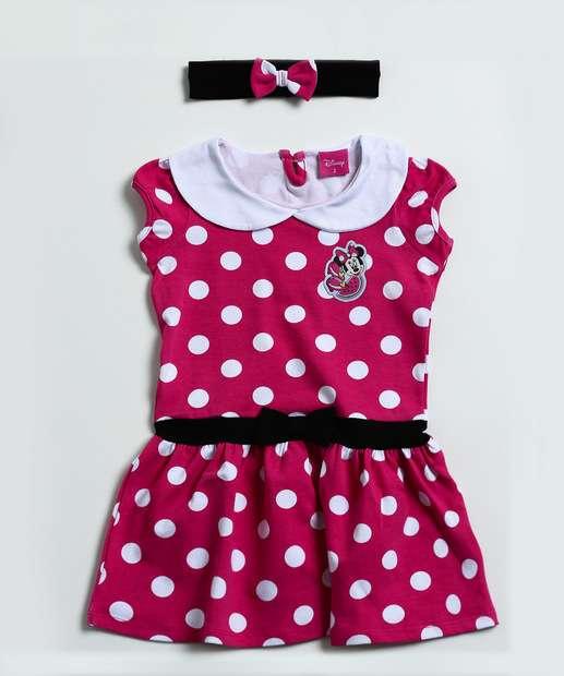 Image_Vestido Infantil Minnie e Faixa de Cabelo Disney
