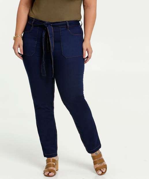 Image_Calça Jeans Feminina Clochard Plus Size