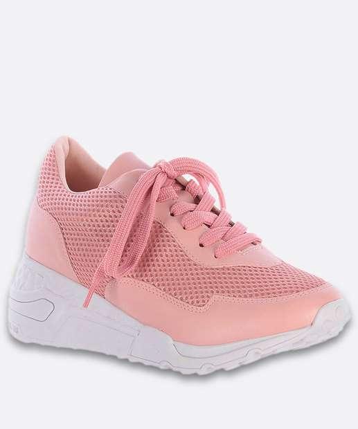 Image_Tênis Feminino Chunky Sneaker Recorte Tela Zatz