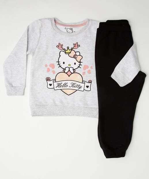 Image_Conjunto Infantil Moletom Estampa Hello Kitty