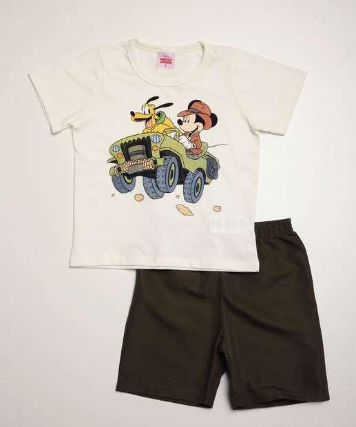 Image_Conjunto Infantil Manga Curta Estampa Mickey Disney Tam 1 a 4