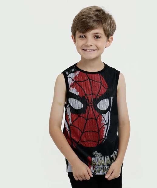 Image_Regata Infantil Estampa Homem Aranha Marvel