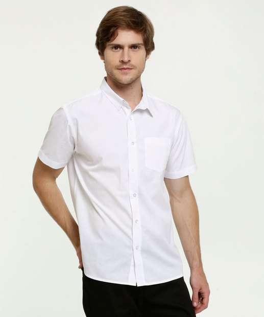 Image_Camisa Masculina Bolso Manga Curta MR