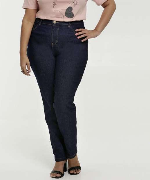 Image_Calça Feminina Jeans Reta Plus Size Marisa