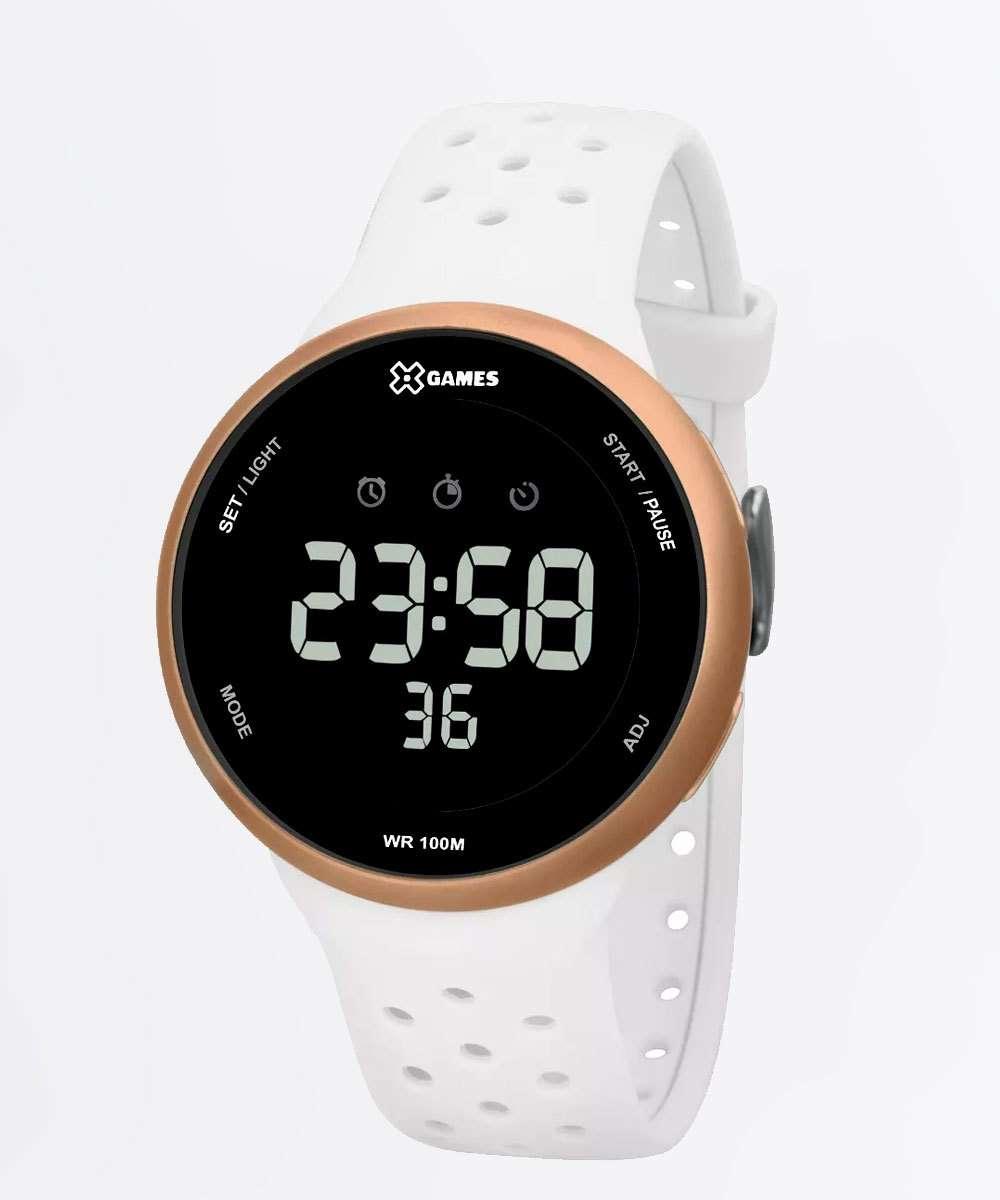 Relógio Feminino Digital XGames XFPPD059-PXBX