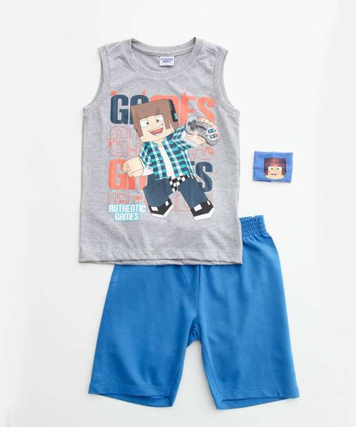 Image_Conjunto Infantil Estampado Brinde Authentic Games