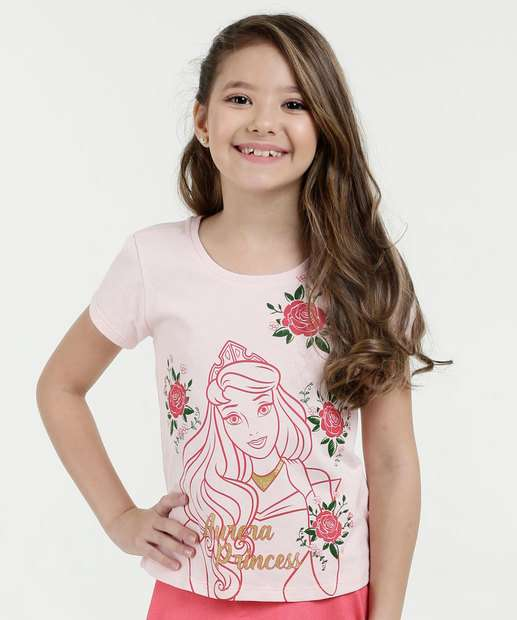 Image_Blusa Infantil Princesa Aurora Disney