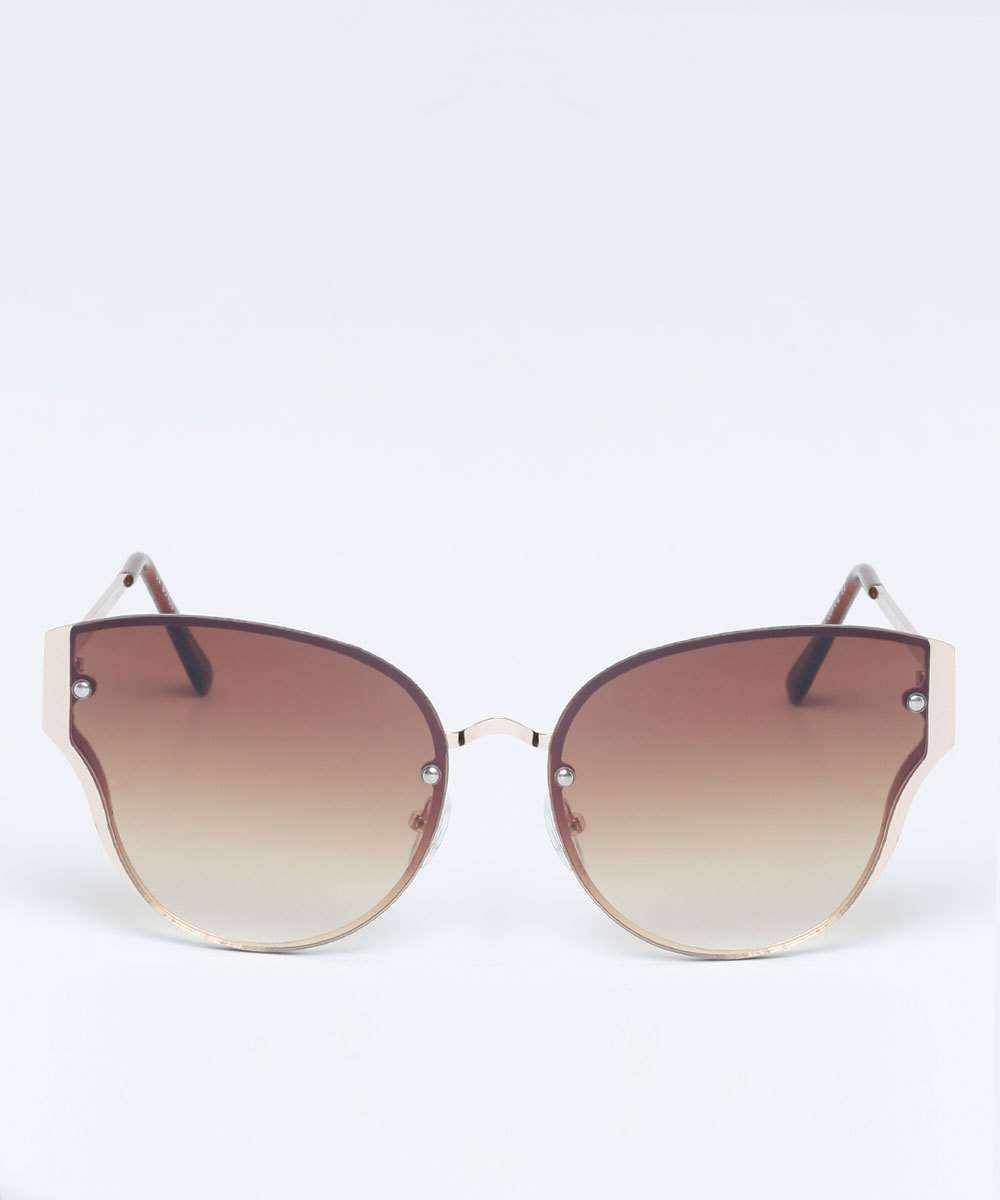 b2fcbc6fc9ae6 Óculos de Sol Feminino Gateado Marisa   Marisa
