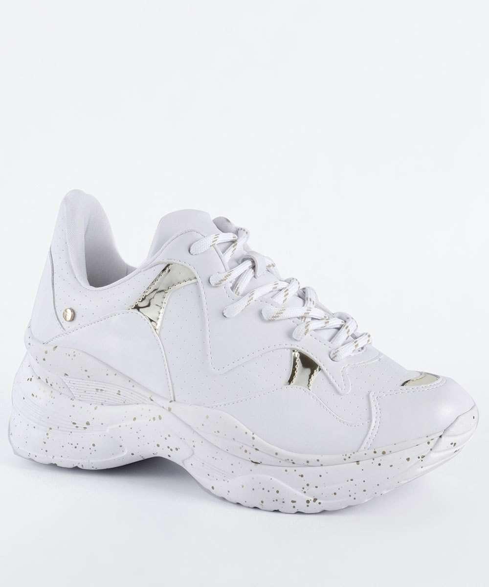 ee96b8ddcde Tênis Feminino Chunky Sneaker Tanara T3081