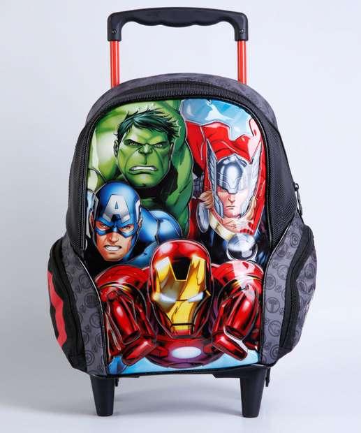 Image_Mochila Escolar Infantil Rodinhas Avengers Xeryus