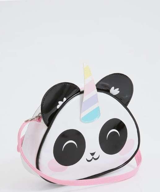Image_Bolsa Infantil Transversal Estampa Panda Unicórnio Marisa