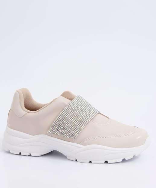 Image_Tênis Feminino Chunky Sneaker Strass Vizzano