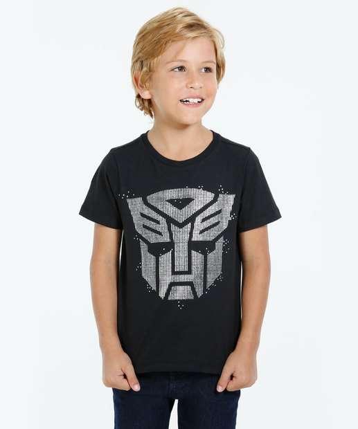Image_Camiseta Infantil Manga Curta Transformers Hasbro