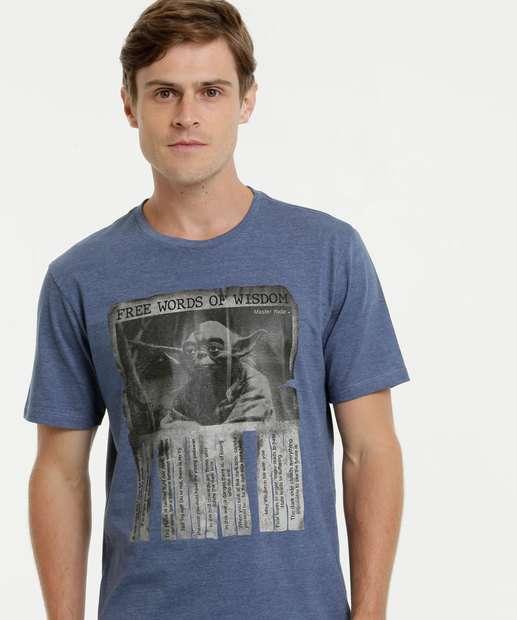 Image_Camiseta Masculina Mestre Yoda Star Wars Disney