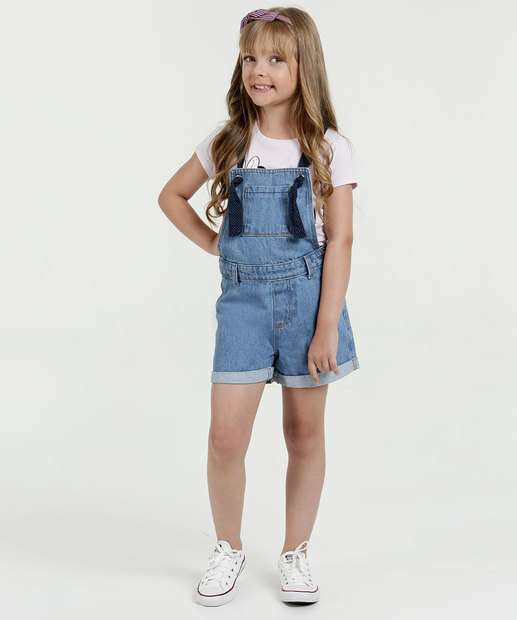 Image_Jardineira Infantil Jeans Alças Finas Marisa