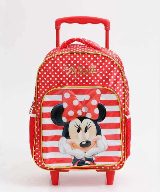 Image_Mochila Escolar Rodinha Estampa Minnie Disney