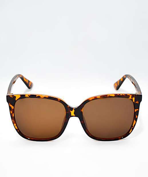Image_Óculos de Sol Feminino Quadrado Tortoise Shell Marisa