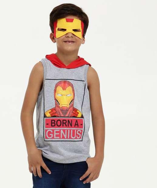 Image_Regata Infantil Estampa Homem de Ferro Brinde Marvel