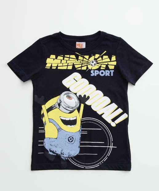 Image_Camiseta Infantil Minions Manga Curta Universal
